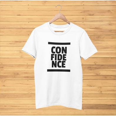 Confidence Design 017 T-Shirt - T-shirts