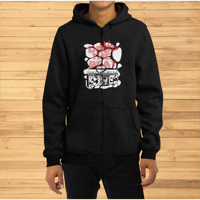 Drop the Beat Design on Hoodie - Hoodie