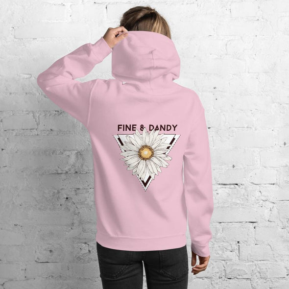 Fine & Dandy Design on Women's Hoodie - Hoodie