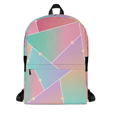 Flashy Pink Design Backpack - Bag