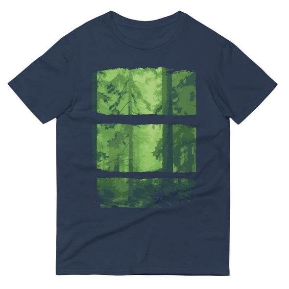 Forest Design on Short-Sleeve T-Shirt - Lake / S - T-shirts