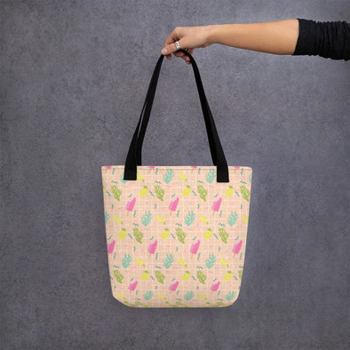 Ice Lolli Design Tote bag - Black - Tote Bag