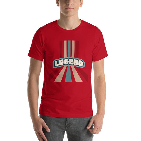 Legend Design on T-Shirt - Red / S - T-shirts
