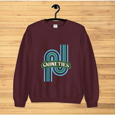Nineties Design on Sweatshirt - Sweatshirt