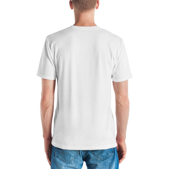 No Music No Life Design on White T-shirt - T-shirts