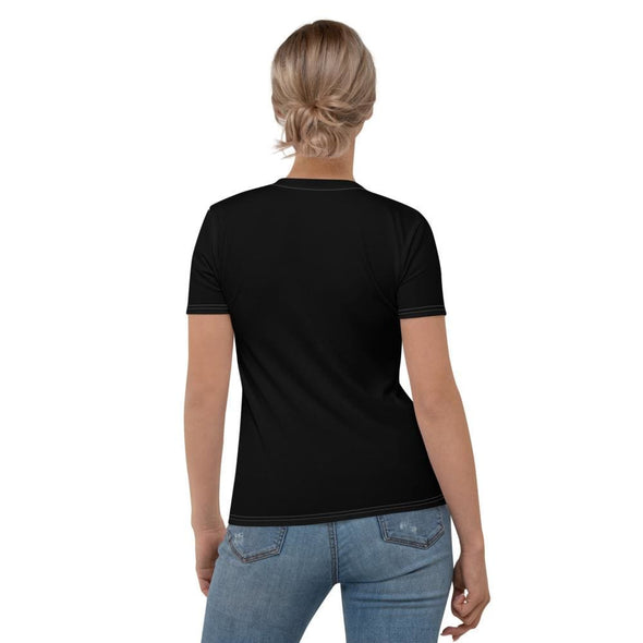 No Music No Life Design on Women's Black T-shirt - T-shirts