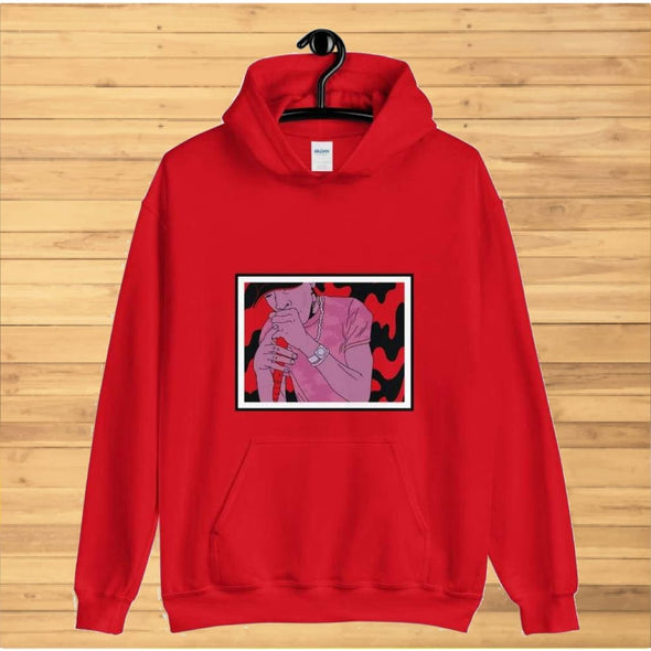 On the Mic Design on Hoodie - Hoodie