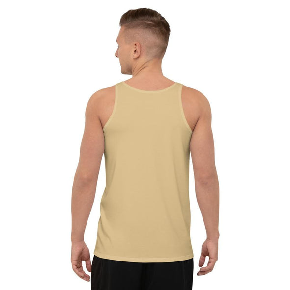 Oriental Harbor Design on Men's Tank Top (with Black