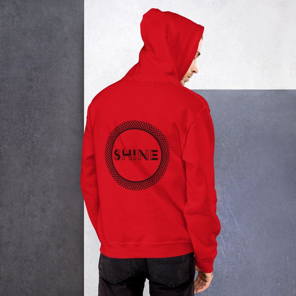 Shine Design on Men's Hoodie - Hoodie
