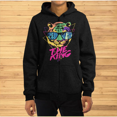 The King Design on Hoodie - Hoodie