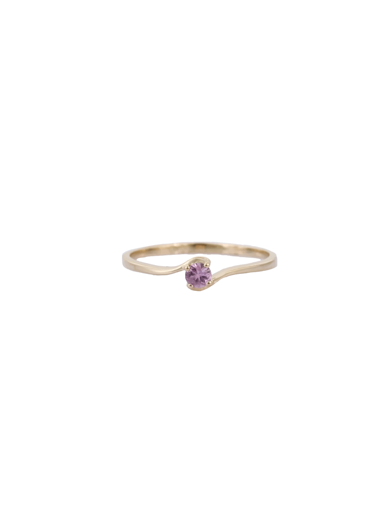 14k Tourmaline Birthstone Ring