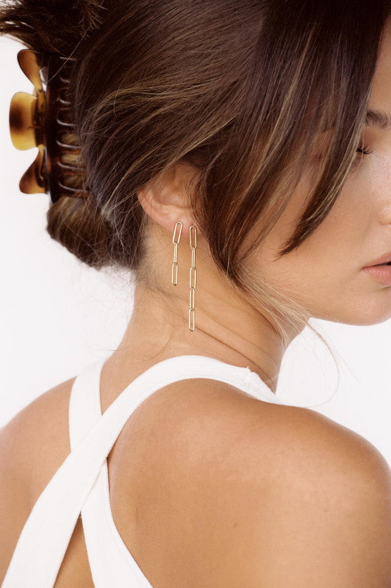 Dillon Earrings (5 link)