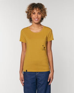 TIME TO FLY | Damen-Shirt organic