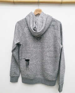 fog storm hoodie organic cotton fair taiwishi wind weather