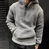 Men's Short Short Fleece Sweatshirt