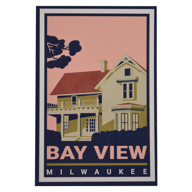 Bay View Postcard