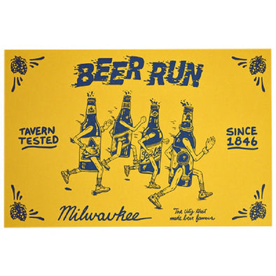 Beer Run Postcard