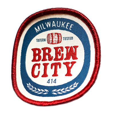 Brew City Beer Label Patch