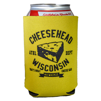 Cheesehead Coozie