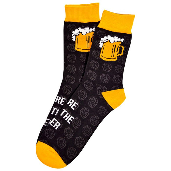 Here Beer Socks