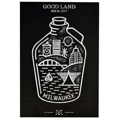 MKe Growler Post Card