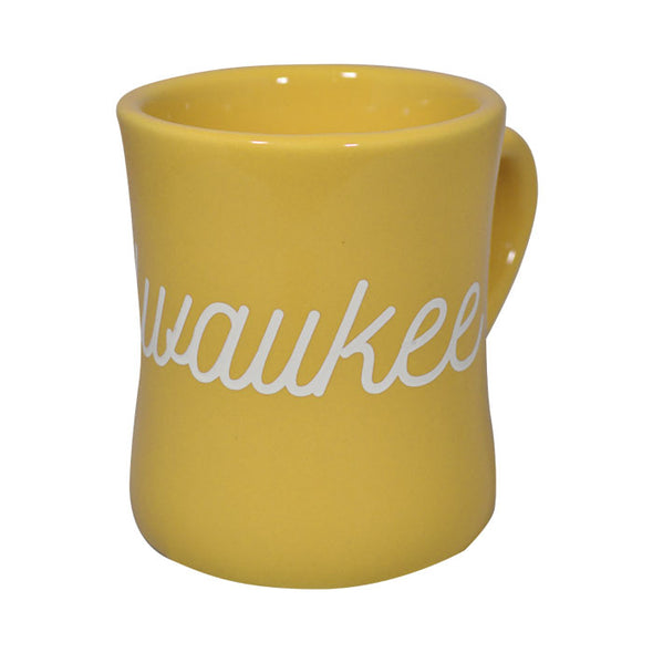 Milwaukee Diner Mug Yellow