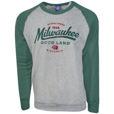 Milwaukee Wiggy Raglan Fleee