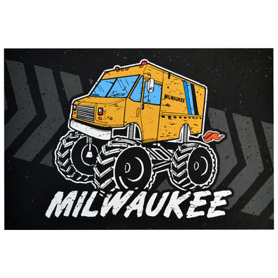 Monster Truck Post Card