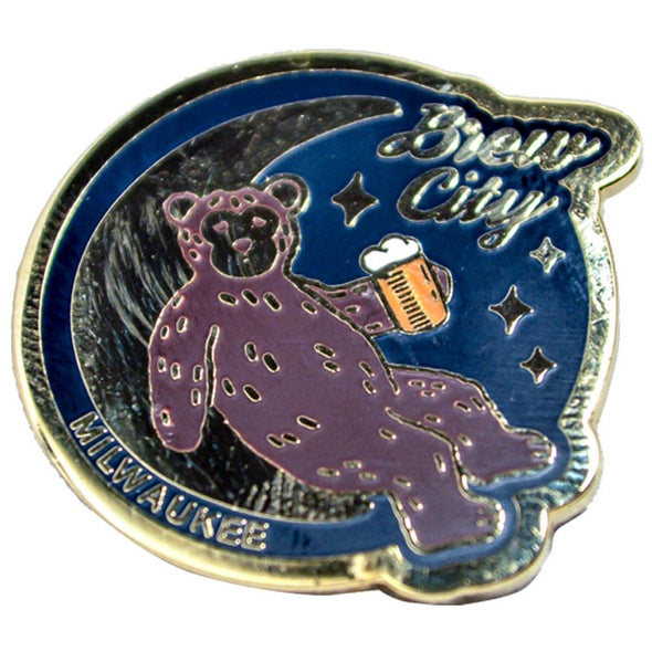 Moon Bear Pin