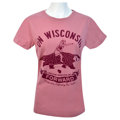 On WI Badger Women's  T