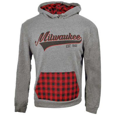 Milwaukee Plaid Hoody