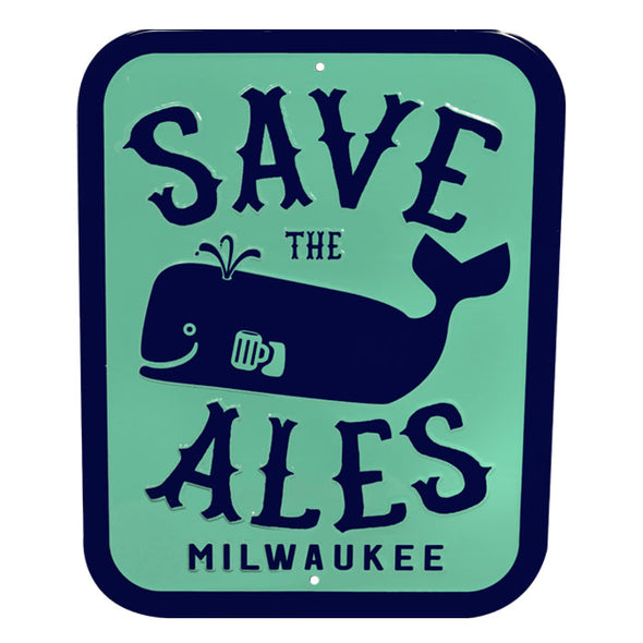 Save the Ales Sign