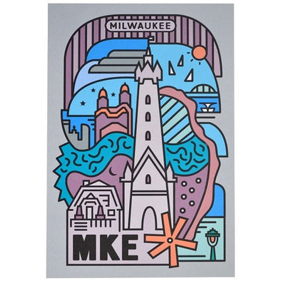 Spirit of Milwaukee Post Card