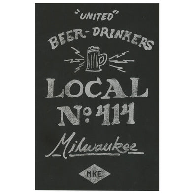 United Beer Drinkers Postcard