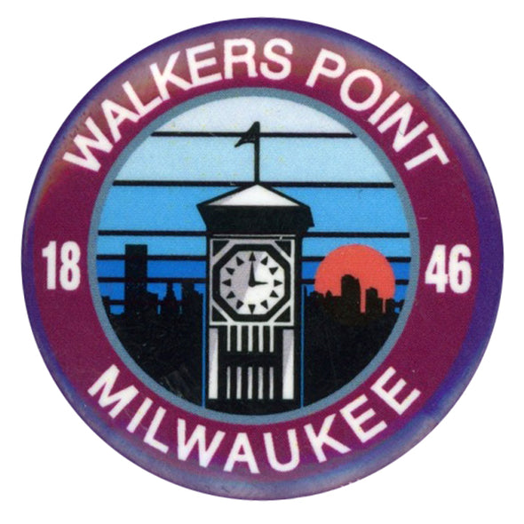 Walkers Point Button