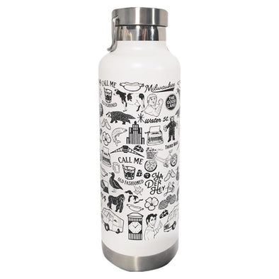 Wisconsin Icons Waterbottle