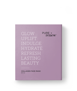 PURE + renew Collagen Boosting Face Mask - Single Pouch