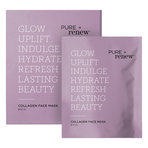 PURE + renew Collagen Boosting Face Mask - Box of 4