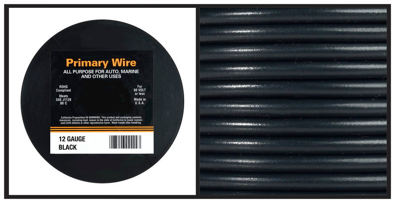 Hook Up Wire - 12 Gauge