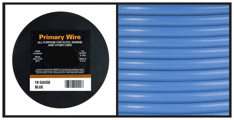 Hook Up Wire - 18 Gauge