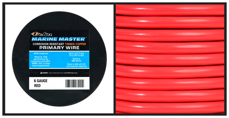 Marine Primary Wire - 6 Gauge