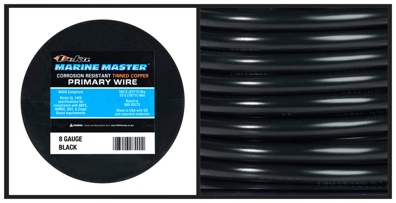 Marine Primary Wire - 8 Gauge