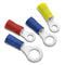 Ring Terminals - Economy Vinyl Insulated. Large Selection of Sizes. Use Drop Down.