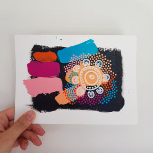 A5 Art Swatch #14 Meeting place