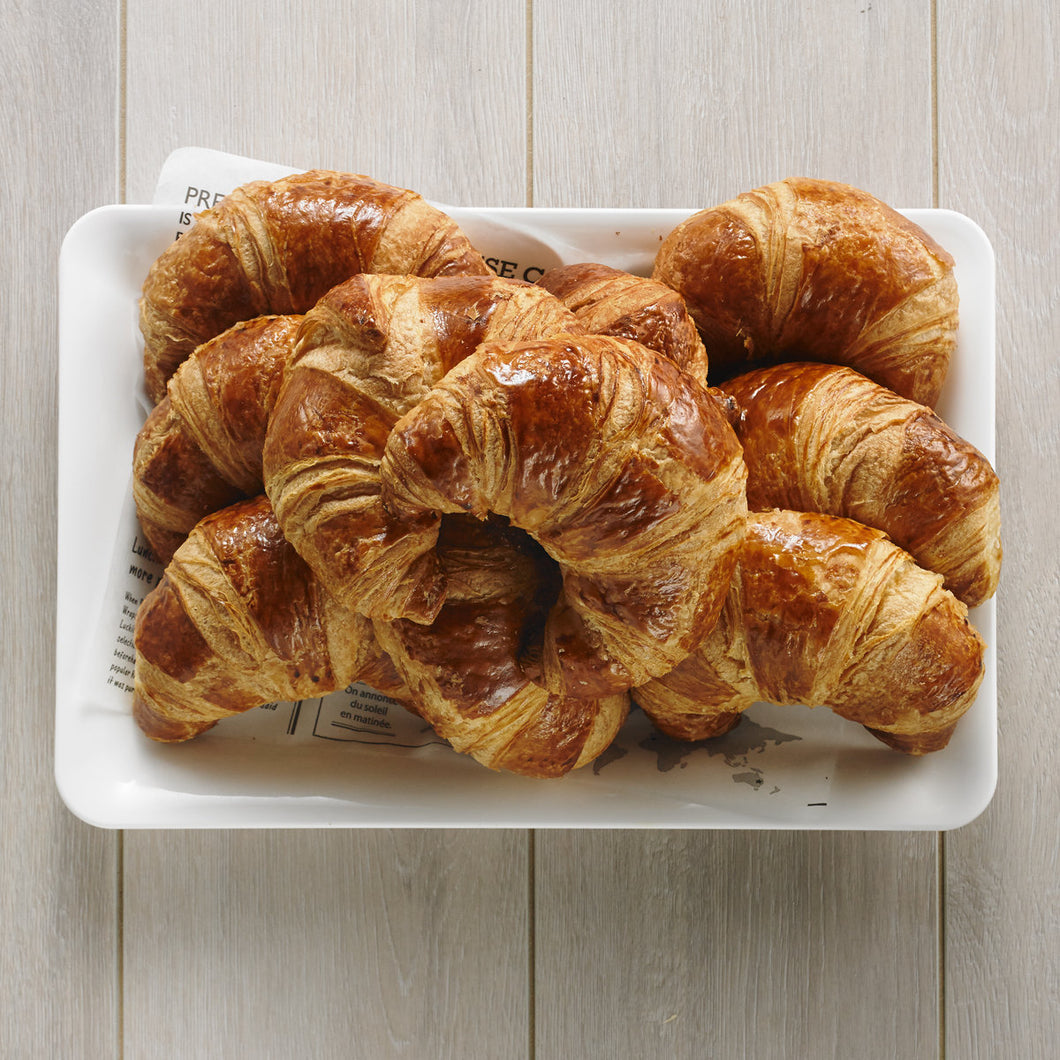 X01. Breakfast: Butter Croissants Platter
