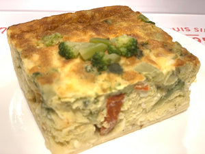 F02. Vegetable Quiche