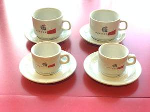 I03. Espresso Cup and Plate Set