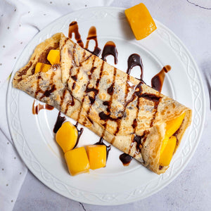 B12. Mango Chocolate Crepe