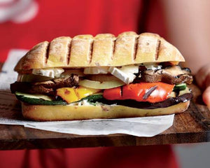 C10. Grilled Vegetables and Provolone Cheese