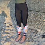 Women SurfFleece Tights - Batik
